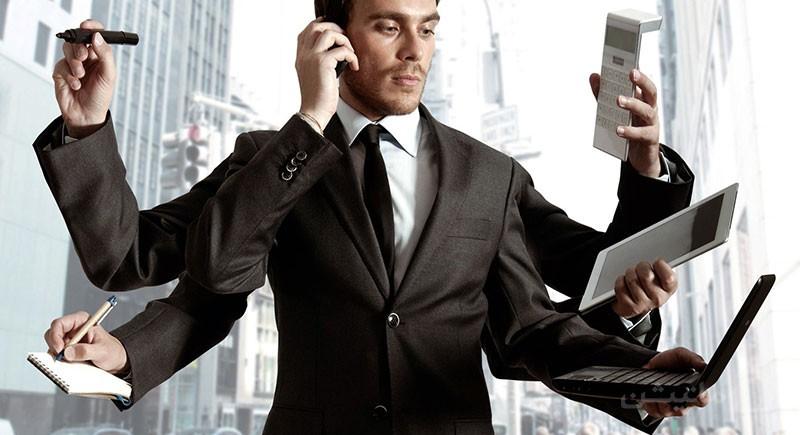 ترفندهای فروش ملک: با تلفن صحبت کردن