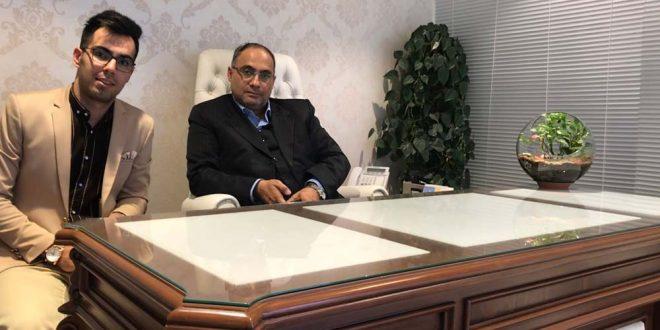 گفتگو آقای فارسی با استاد امیر همایون کاشانی کیا