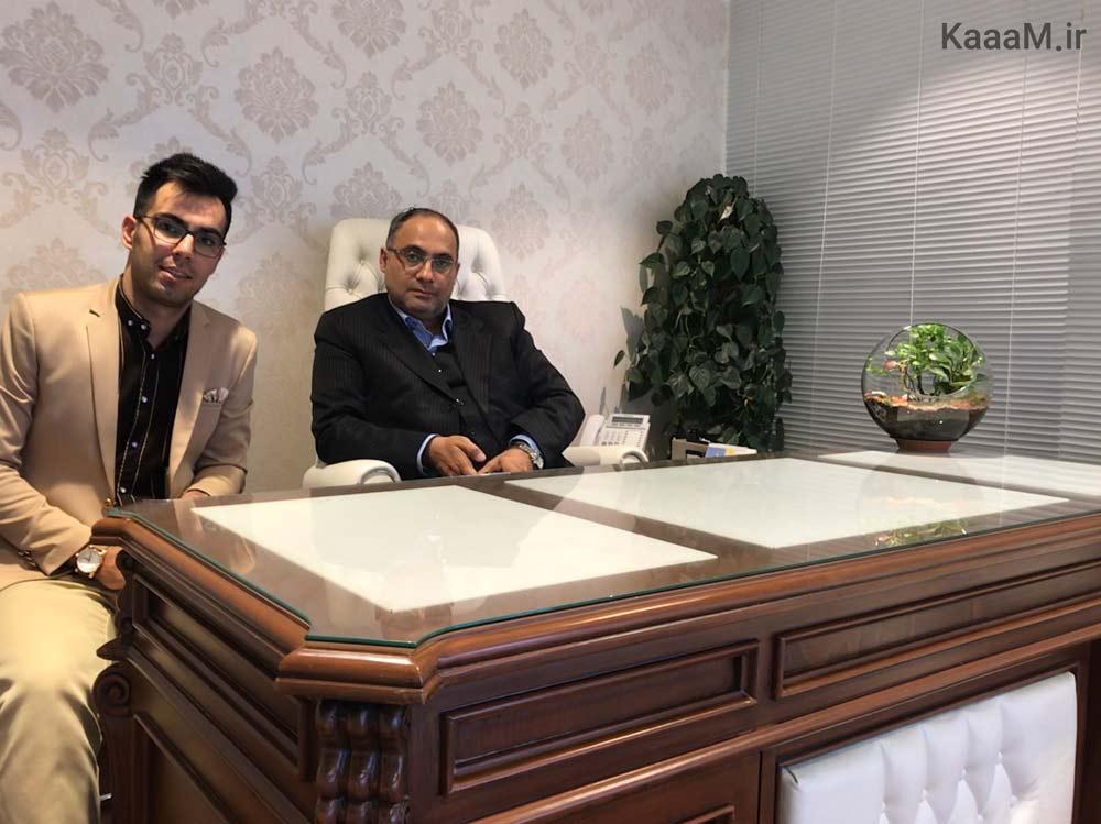 گفتگو با اساتید ملکی ایران