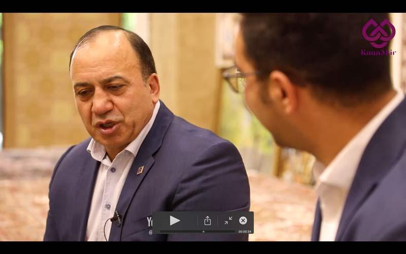 مصاحبه با احد عظیم زاده آقای فرش ایران و مالک برج های متل قو